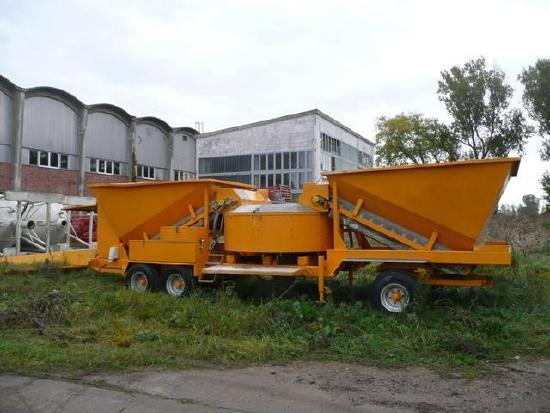 mobile Betonmischanlage