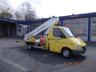 Truck mounted work platform - Teupen Euro B20