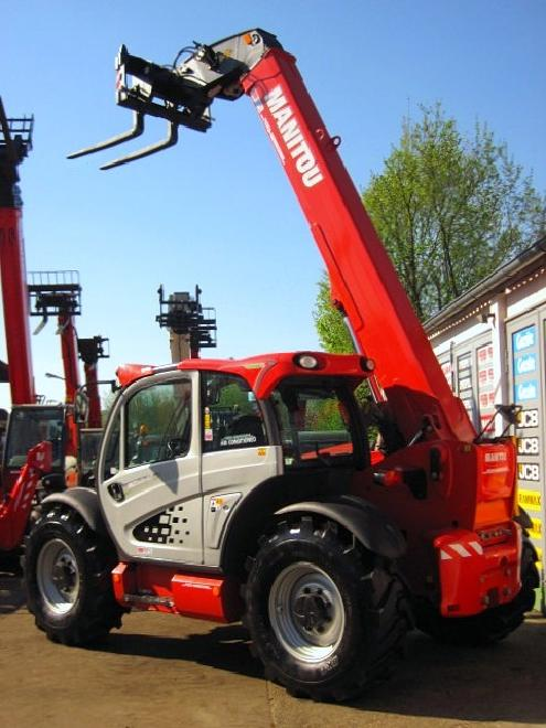 Manitou MLT 840 - 137 PS TURBO ** 7.6m / 4t. ** 40 km/h