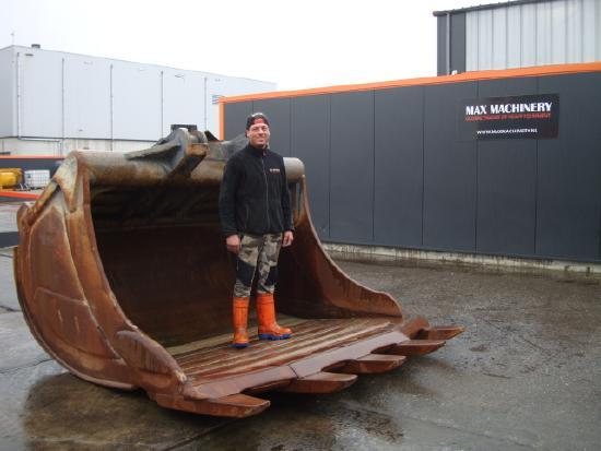 Klepp Mek KM4- 8000 Liter HARDOX bucket