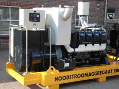 Agregat prądotwórczy - MTU Mecc Alte