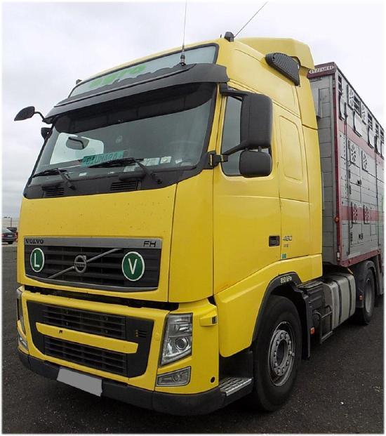 Volvo FH460 EEV Truck tractor VOLVO FH 460 EEV, 2013
