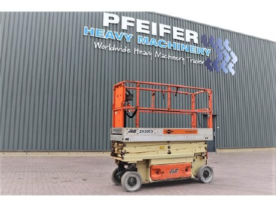 JLG 2030ES Electric, 8.1m Working Height, Non Marking