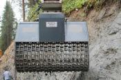 B44-1800 SIEBLÖFFEL hydraulisch abgetrieben
