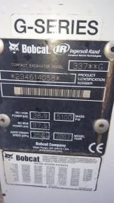 Miniexcavadora - Bobcat 337