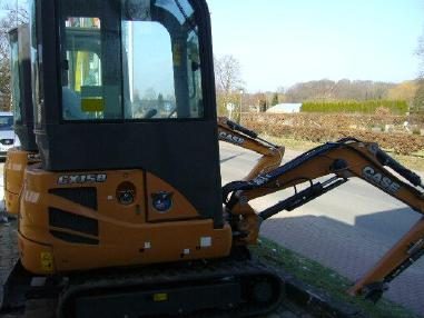 Mini excavator - Case CX 15 B