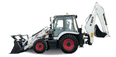 Graafmachinewiellader - Bobcat B730