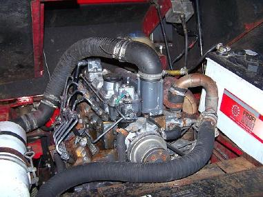 Încărcător pe pneuri - Gehl Radlader Allrad KL 405 wheelloader Palettengabel