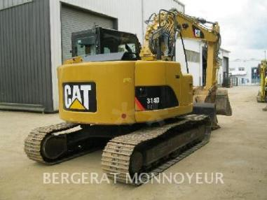 Tracked excavator - Caterpillar 314D