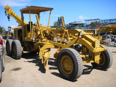 Niveleuse - Caterpillar CAT 12G _ 1980