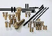 Imlochhammer-Bohrkronen/DTH bits