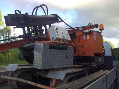 Piling rig - Gayk HRE 3000