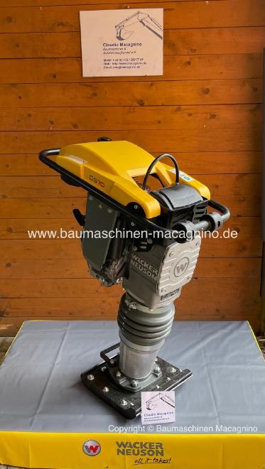 Wacker Neuson DS 70 Y Diesel-Stampfer NEU