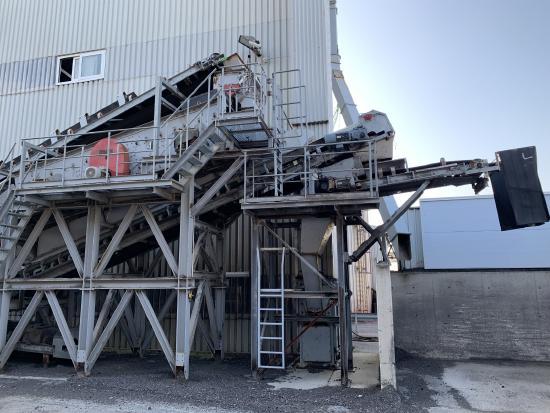 Benninghoven BZG1200 + Screen plant