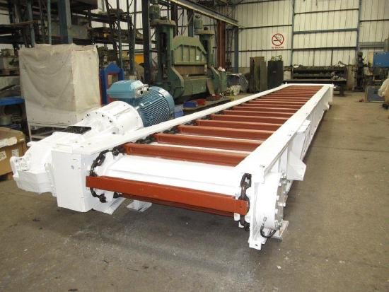 Becorit Chain Conveyor & MMD Roll Crusher.