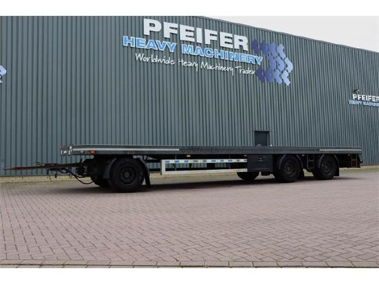 GS Meppel AV-2700 P 3 Axel Container Trailer