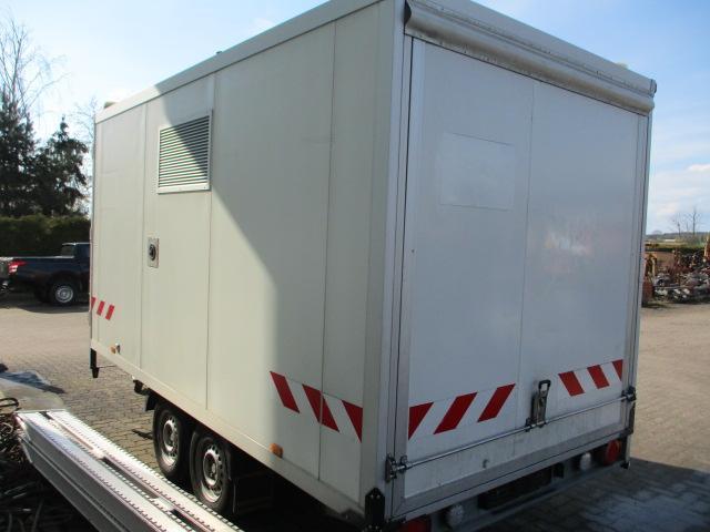 Spezialfahrzeuge - Anhänger - Humbaur - HK 3540 - 4