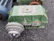 Drei gebrauchte Getriebe Hueber Baake HB3N/8