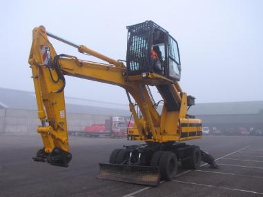 Mobile excavator - JCB JS 200 W