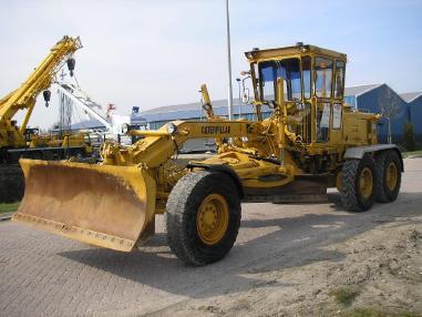 greder - Caterpillar 140G