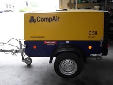 мобилен компресор - Compair C 50 AF-NA