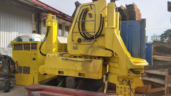 Giken Silent Piler Piling GIKEN ZP 150 Z-Piler no kowan still worker hydropress pile driver hydro-press pile piling
