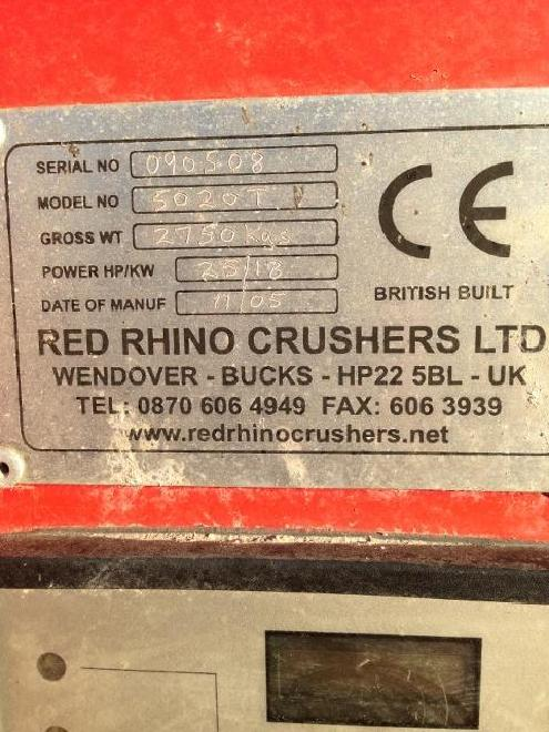 Red Rhino Mini Crusher