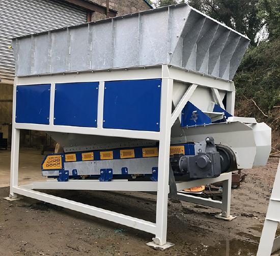 2030 Belt Feed Hopper