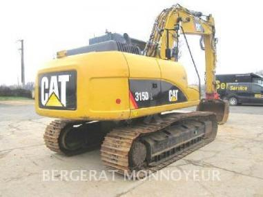 Tracked excavator - Caterpillar 315D