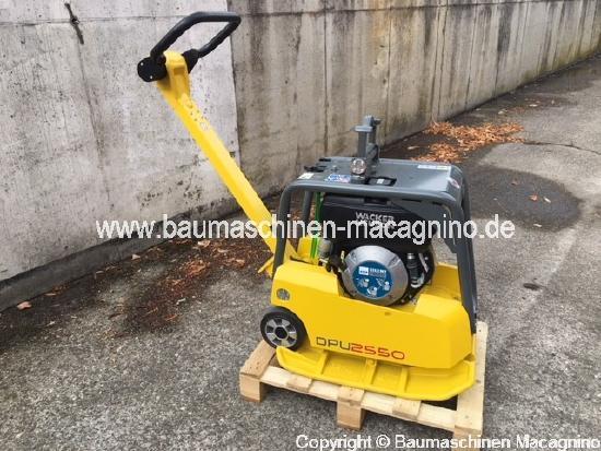 Wacker Neuson DPU 2550 H Rüttelplatte NEU
