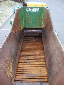 Broyeur - Hussmann HFG 2 D Schredder woodshredder Häcksler