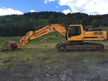 Tracked excavator - Hyundai ROBEX 360LC-7A