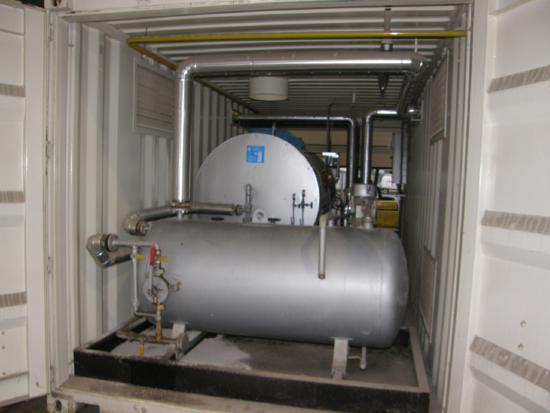Benninghoven Thermalölaggregat