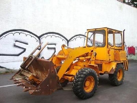 Ahlmann Radlader AL8 wheelloader 5,8to 4x4 Palettengabel