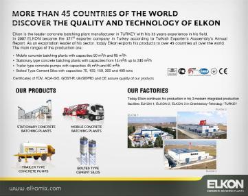 कंक्रीट ट्रेलर पम्प - Elkon ELKOPOMP S60 (NEW)