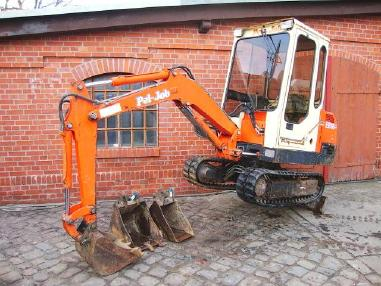 Minibagger - Pel Job EB 16 Minibagger excavator 1100h Hammerhydraulik