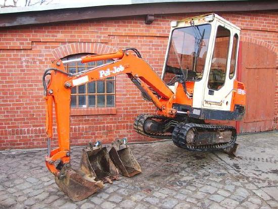 Pel Job EB 16 Minibagger excavator 1100h Hammerhydraulik