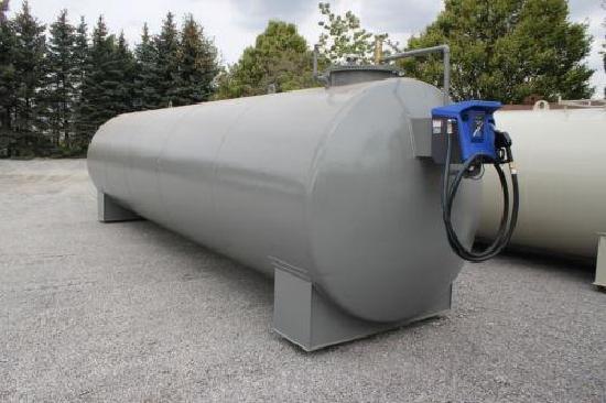 Dieseltankstelle 25.000 Liter doppelwandig gebraucht