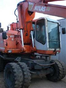 Excavator mobil - Atlas 1704
