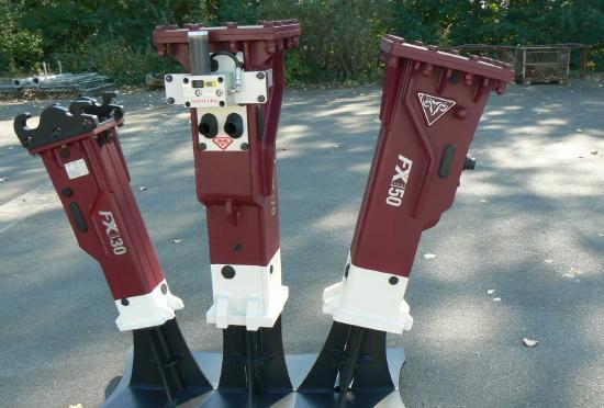 Hydraram FX-10 | 100 kg | 0,8 ~ 2,0 t. | Neu !!