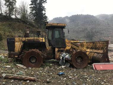Waste Compactor - Hanomag CL310
