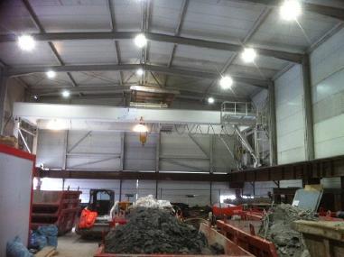 Portaalinosturi - Demag Portalkran 20 ton