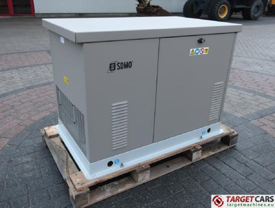 Sdmo RES13EC Gas / LPG 11.6KVA Generator 230V UNUSED