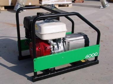 Generaattori - Honda GP6000