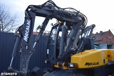 Mobile excavator - Mecalac 12 MXT 12mxt