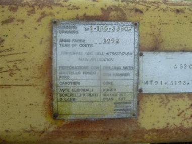 Машина за ядково сондиране - Atlas Copco A52
