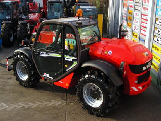 Manitou MLT 627 T TURBO COMPACT ** 6m / 2.7t.