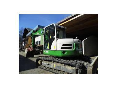 Tracked excavator - Terex TC125