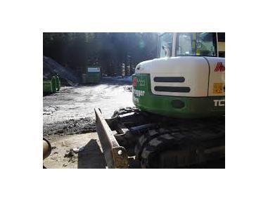 Экскаватор на гусеничном ходу - Terex TC125