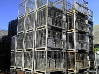 Решетъчен контейнер - Други 1240x835x970
